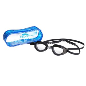 Fiski Hunter Swimming Goggles - Clear Cobra