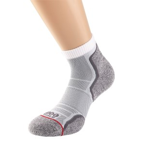 1000 Mile Run Anklet Mens Sports Socks - Twin Pack