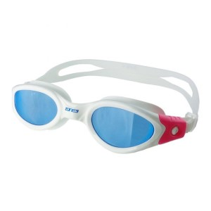 Zone3 Apollo Swimming Goggles - white/pink size - small/medium