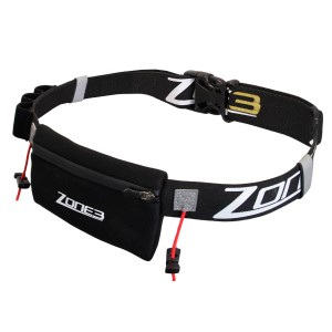 Zone3 Triathlon Race Belt With Neoprene Pouch